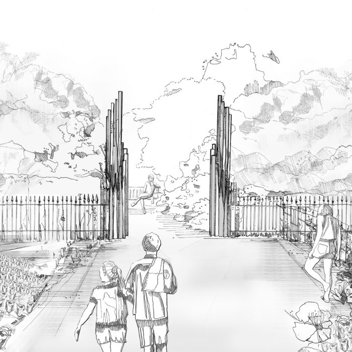 Rose Garden Gates