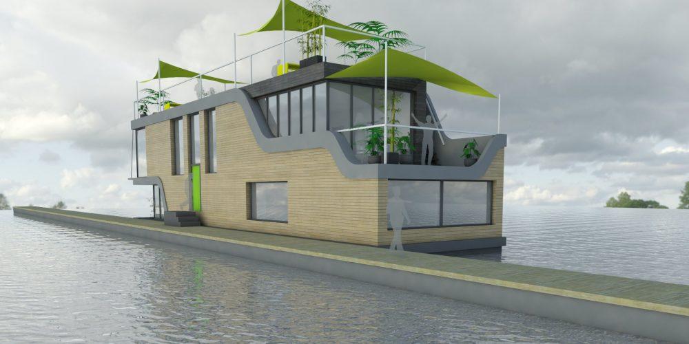 Wandsworth Houseboat